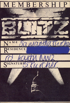 blitz membership card